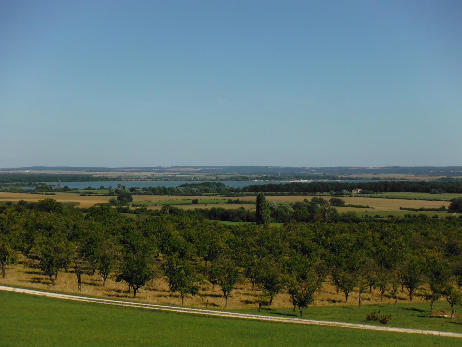 Vergers et Lac de la Madine